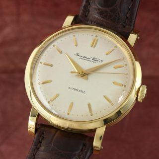 Iwc Schaffhausen 18k Gelb Gold Portofino Herrenuhr Automatik Vintage Vp: 10700,  - Bild