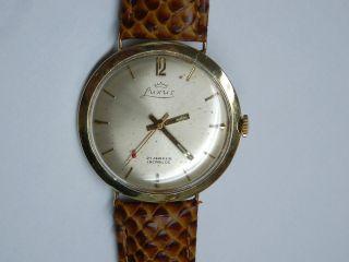14k 585 Gold Luxus Chronometer.  Herren Armbanduhr.  Kaliber Eta 2390 Bild