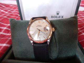 Rolex Oysterdate,  Precision, Bild