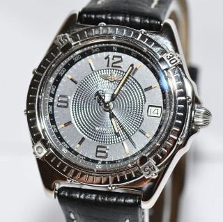 Breitling Wings Stahl Uhr Ref.  A10050 - 101 Papiere Box 1998 Bild