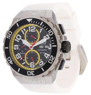 Ingersoll Automatik Armbanduhr Bison No.  53 Weiß In4513wh Bild