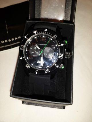 Baldessarini Herren - Armbanduhr Chronograph Quarz Silikon Y8037w/20/00 Bild