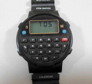 Digitale Armbanduhr Mit Taschenrechner,  Viele Funktionen Bild