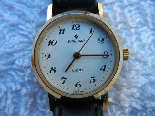 Junghans Quartz Uhr Germany Eta Swiss Werk Bild