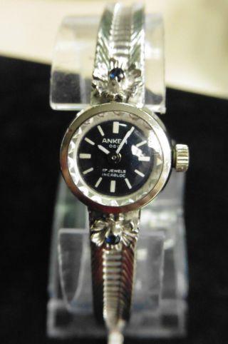 Anker Uhr Massiv Silber Uhr Dau Hau Silberschmuck Antik Top Rarität Designer Bild