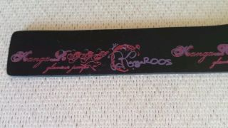 Damenuhr Armbanduhr Kangaroos Leder Schwarz Pink/beere Bild