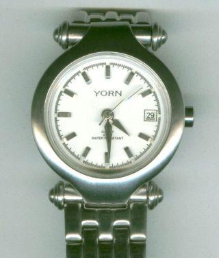 Damenuhr Yorn Edelstahl GehÄuse,  Edelstahl Armband Matt Damen Uhr Bild