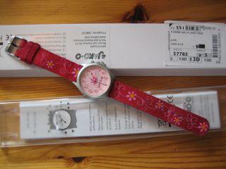 Jako - O Komm - Nach - Hause - Uhr Pink Armbanduhr Kinderuhr Mädchen,  Ovp Gekauft 5/13 Bild