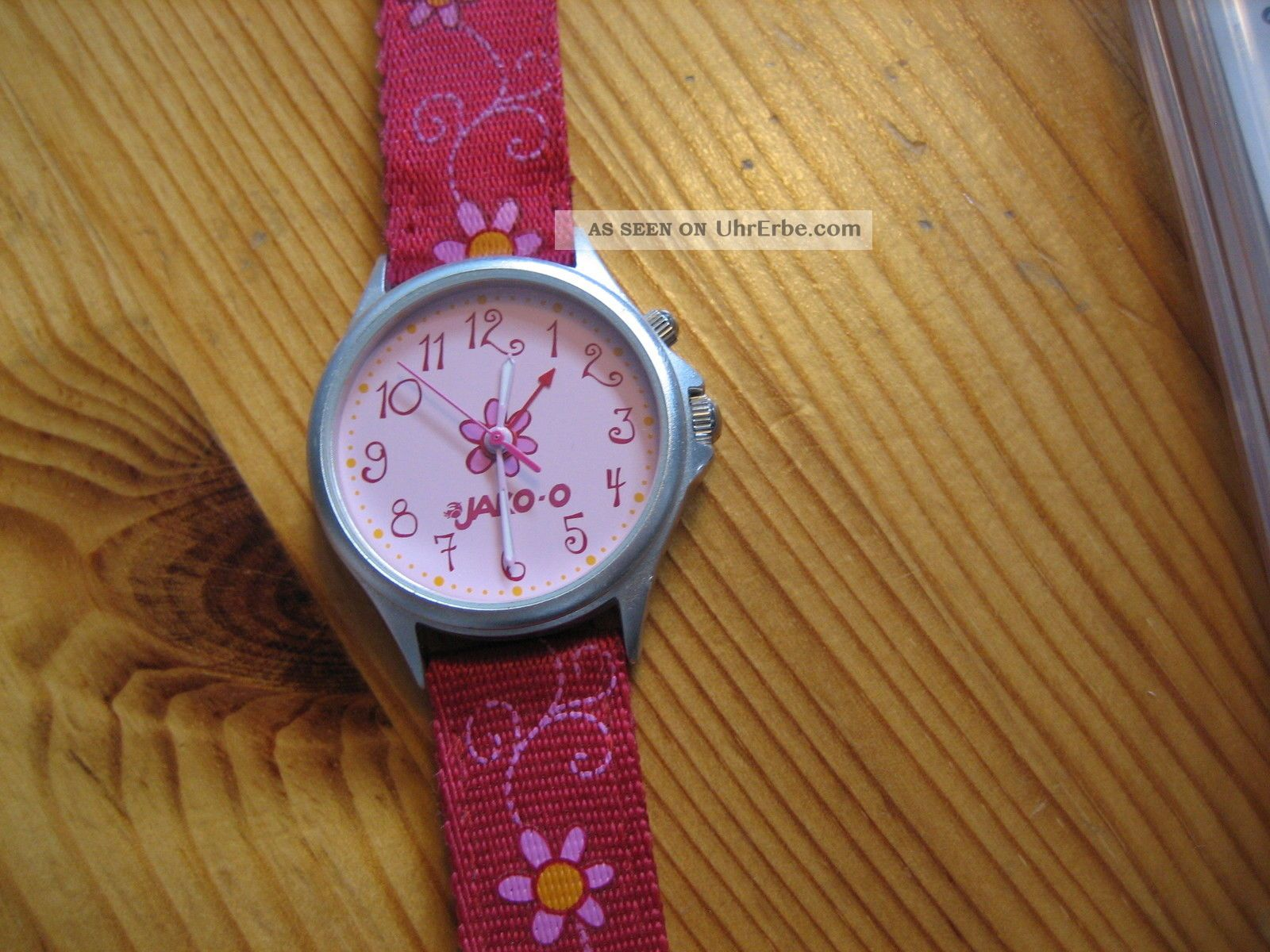 jako o komm nach hause uhr pink armbanduhr