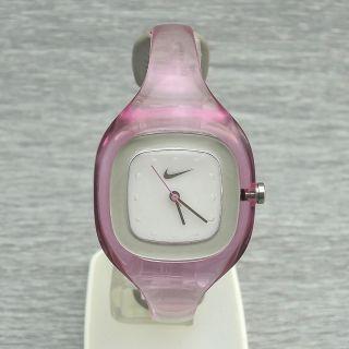 Damenuhr Quarz Nike Wt0008 - 602 Spange Spangenuhr Damenarmbanduhr Mit Licht Bild