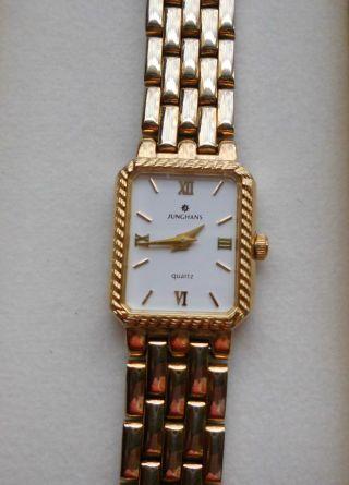 Junghans Damen Uhr Quartz Gold (läuft) Bild