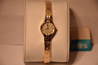 Emes 17/4004 Damen - Armbanduhr Uhr Neuwertig/ungetragen Ronda 762 Swissmade Bild