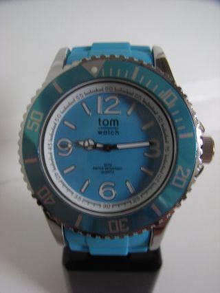 Tomwatch Basic 48 Wa 052 Ocean Turquoise Gleiche Produktion Wie Kyboe Uvp 49,  90€ Bild