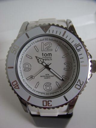 Tomwatch Basic 48 Wa 050 Weiß Armbanduhr Gleiche Produktion Wie Kyboe Uvp 49,  90€ Bild