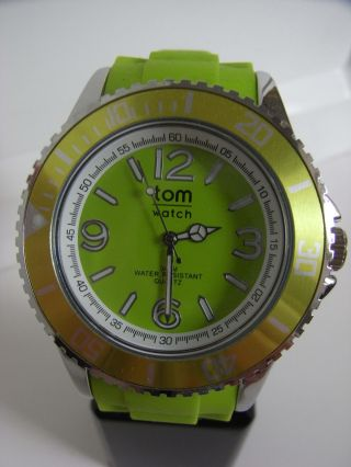 Tomwatch Basic 48 Wa 090 Lemon Green Gleiche Produktion Wie Kyboe Uvp 49,  90€ Bild