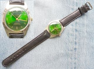 Ruhla Armbanduhr 2 Rubis Herren Herrenuhr Uhr Umf 24 Bild
