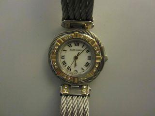 Philippe Charriol Damen Uhr Celtic Gold / Diamant / Stahlband Bild