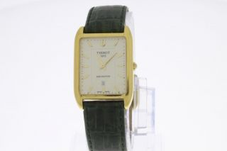 Tissot Fascination Armbanduhr Quartz Vergoldet Old Stock Bild
