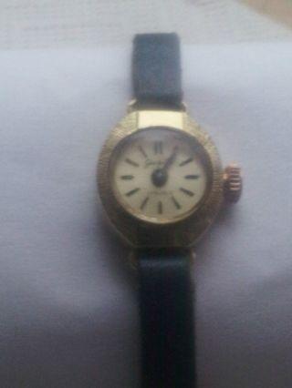 Damen Armbanduhr GlashÜtte (14 Karat) 585 Gold Bild