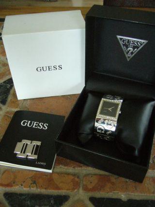 Guess,  Armbanduhr Für Damen Mit Straß - Steine 70607l2 Bild