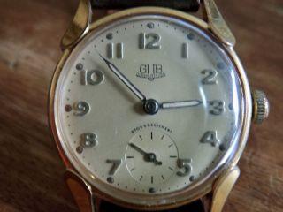 Armbanduhr Vintage Gub Glashütte Bild