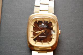 Junghans Automatic Uhr 25 Jewels 60jahre Uhr Bild