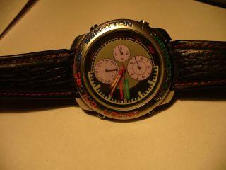 United Colors Of Benetton By Bulova Multi Chronograph Uhr Bild