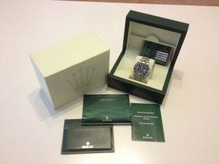 Rolex Gmt Ii Blnr Aus 2013 Referenz 116710 Blnr Komplett Paket Bild