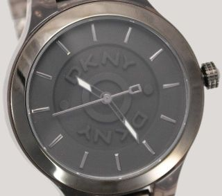 Dkny Donna Karan York Damenuhr Damen Uhr Kunststoff Schwarz Ny8169 Bild
