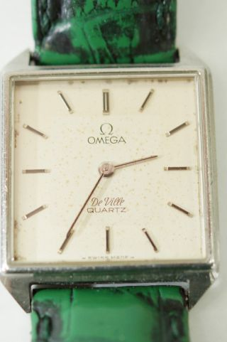 Omega Uhr Armbanduhr Damenuhr Uhr Omega De Ville Mit Fehler Bild