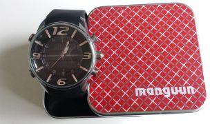 Manguun Herrenuhr Analog - Digital Mit Restgarantie Bild