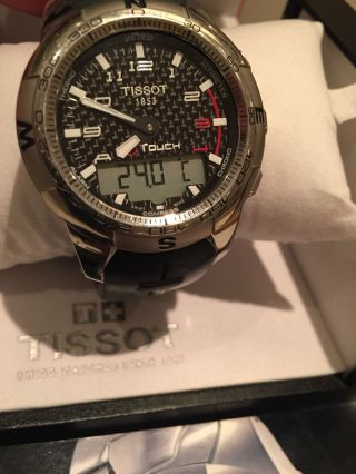 Tissot T - Touch Ii T047420a Armbanduhr Für Herren Bild