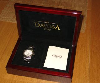 Davosa Ternos Diver Stahl Eta 2824 - 2 Automatik Datum Mit Box Bild