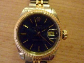 Rolex Datejust Damen Gold / Stahl Bild