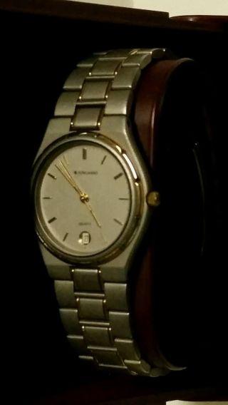 Herren Armbanduhr Junghans 41/4610 Titan Datumsanzeige Bild