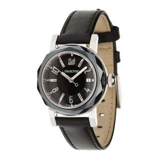 Swarovski Octea Lady Jet 999973 Damenuhr Armbanduhr Uhr Watch Ovp Uvp 440€ Bild