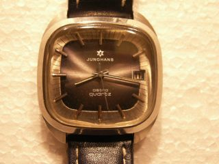 Junghans Astra Armbanduhr Quartz 70 Jahre All Stainless Steel Bild