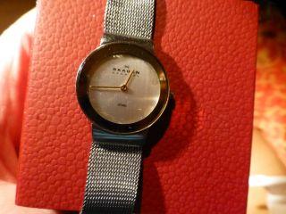 Skagen Damenuhr Slimline Stahl 358 Sgs,  Armbanduhr Bild