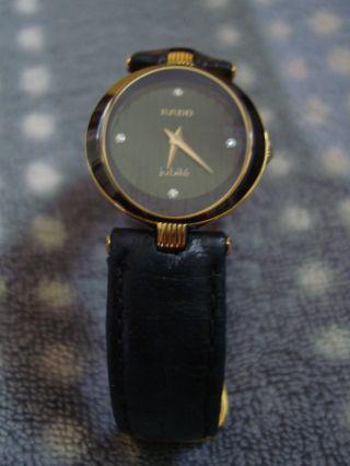 Sehr Elegante Damenarmbanduhr Jubilé Von Rado Bild