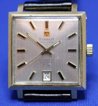 Tissot Visodate Automatik Seastar T 12 Armbanduhr Uhr Swiss Made Bild