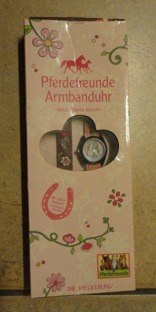 Armbanduhr Ovp Mit Zwei Armbändern Pferdefreunde Pferde Spiegelburg Neuwertig Bild