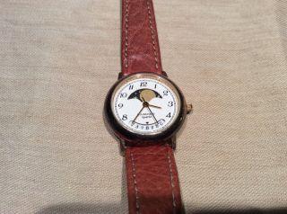 Junghans Armbanduhr Damen Damenuhr Mit Mondphase Bild