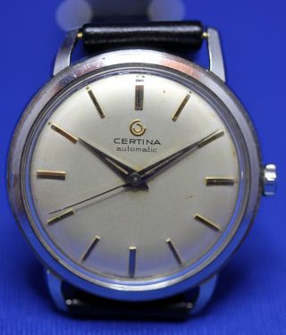 Certina Automatik Kaliber 25 - 45 / 21 Jewels Armbanduhr Uhr Swiss Made Bild
