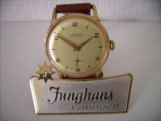 Top Junghans Max Bill Bauhaus Wagenfeld Design Kal.  J93s 50/60er Jahre Top Bild