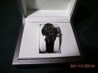 Iwc Flieger Chronograph Quartz Mit Iwc - Holzbox Ref.  3741 Bild