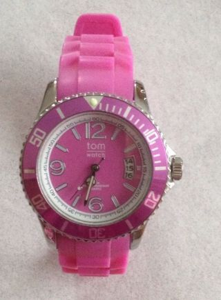 Tom Watch Pink Mit Datum Bild