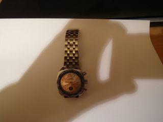 Ruhla Chronograph Chronograf Herrenuhr Ddr Uhr,  Sammleruhr LÄuft WeltzeitlÜnette Bild