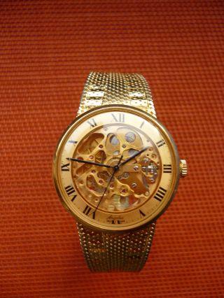 Angelus - Skelett - Armbanduhr Mechanischer Handaufzug Bild