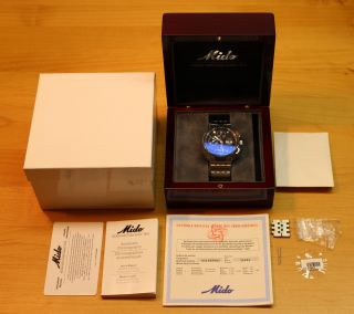 Mido All Dial Chronometer Chronograph Datum Wochentag Ovp,  Papiere Bild