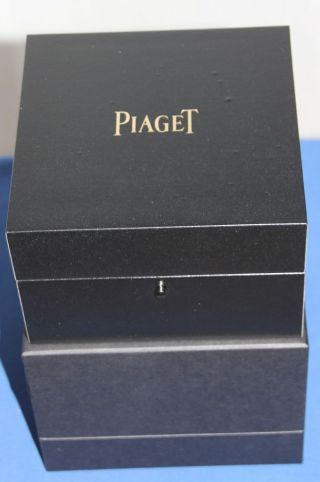 Edle Uhrenbox Piaget Für 1 Uhr.  Pianolack - Mit Ovp Bild